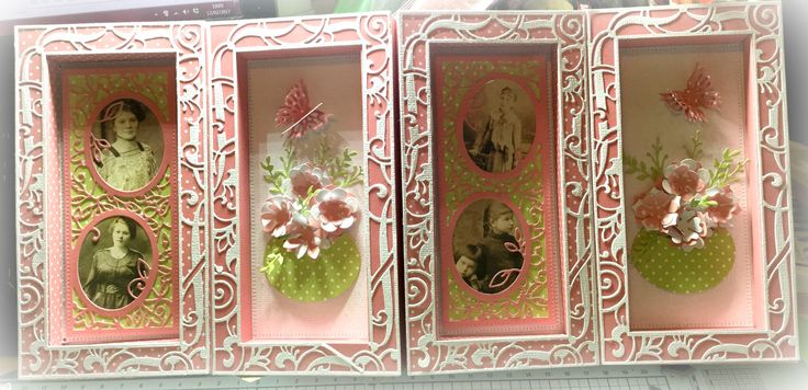 Hello Everyone I'm back with another Sneak Peek of the NEW Tonic Studios Shadowbox Creations Dies Set - it is so versatile. You creat...