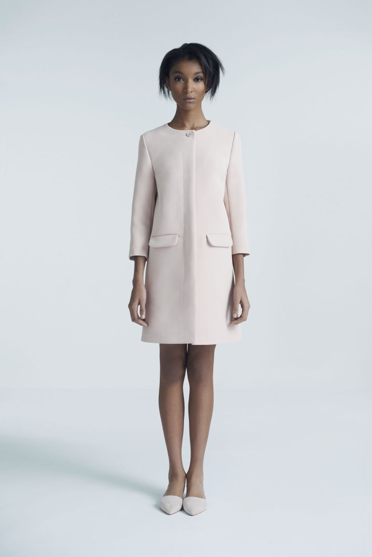 Pima Coat | Samuji Pre-Fall 2014 Collection