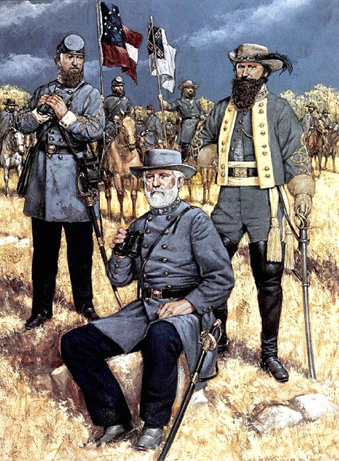 • Lieutenat-General Thomas J. Jackson  • General Robert E. Lee  • Major-General J. E. B. Stuart