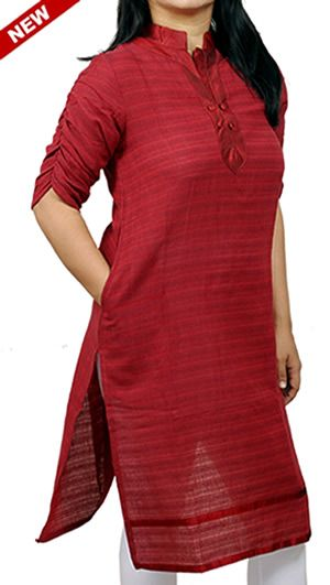 Cotton Kurtis for Office.