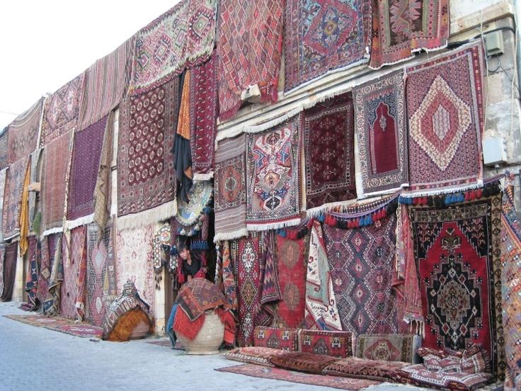 Carpet shop, Goreme, Cappadocia, Turkey
