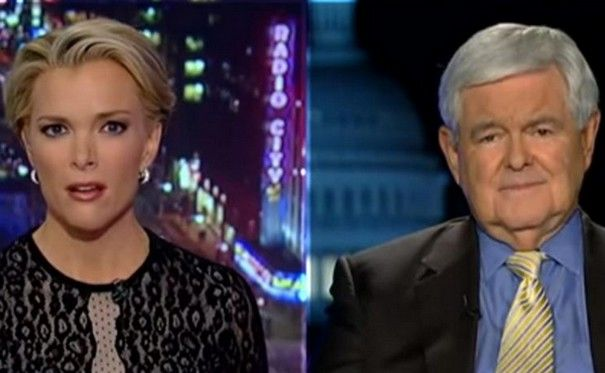 Newt Gingrich accuses Megyn Kelly of being fascinated with sex