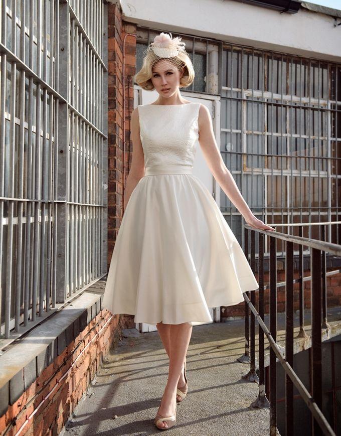 short wedding dresses vintage - Google Search
