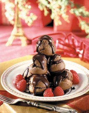 Chocolate Croquembouches