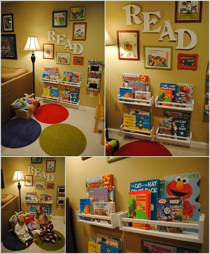 Decorate Your Kids' Playroom Wall with a Creative Idea 7