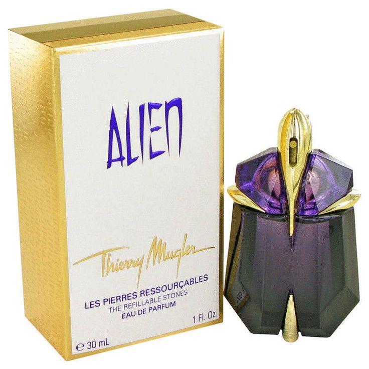 Alien Perfume by Thierry Mugler 1 oz Eau De Parfum Refillable Spray Nighttime #ThierryMugler