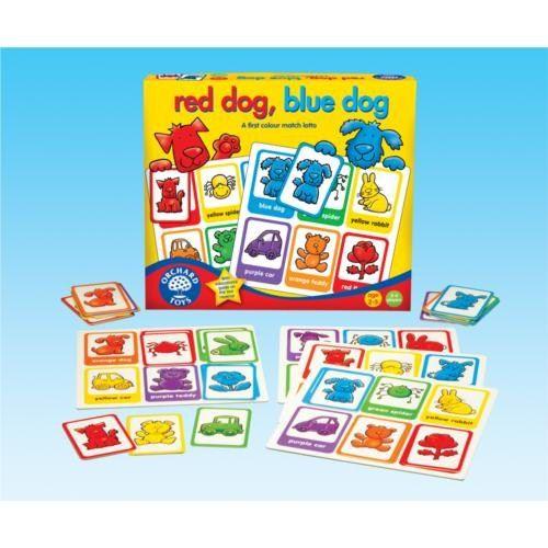 Orchard Kırmızı Köpek Mavi Köpek (2-5 Yaş / Tombala Oyunu)