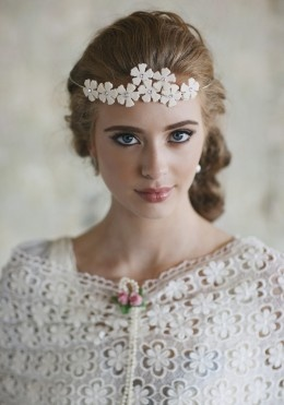 Twig and Sparrow Halcyon crown: Hair Piece, Bridal, Flower Crowns, Wedding, Entwined Flower, Flowercrown, Spirits Entwined, Headpieces