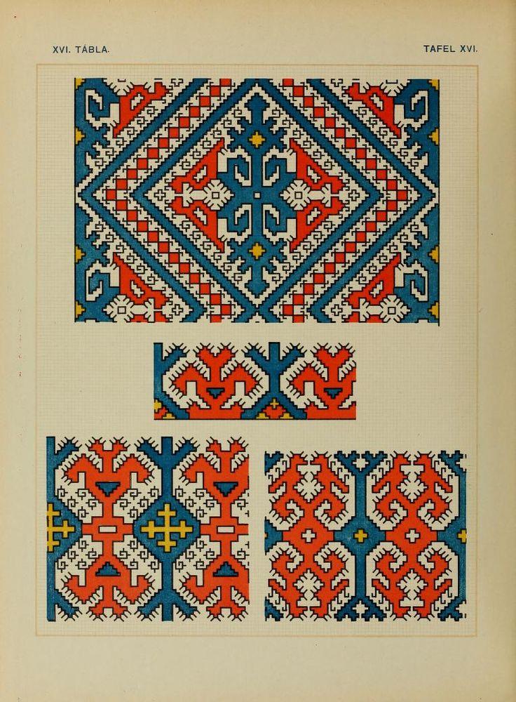 Osztyák himzések = Ostjakische Stickereien - Ostyak embroidery - Magyar Nemzeti Múzeum - 1921  (44 of 86)