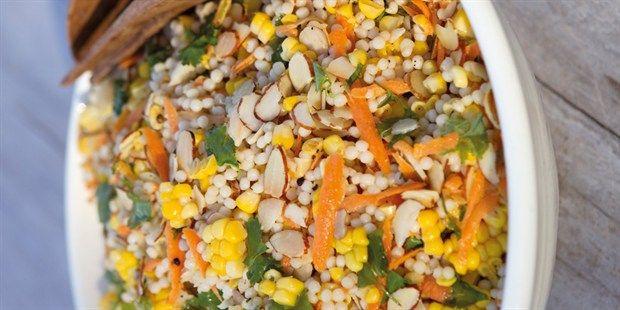 Corn and Israeli Couscous Salad
