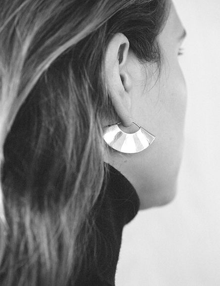 Single earring. @thecoveteur