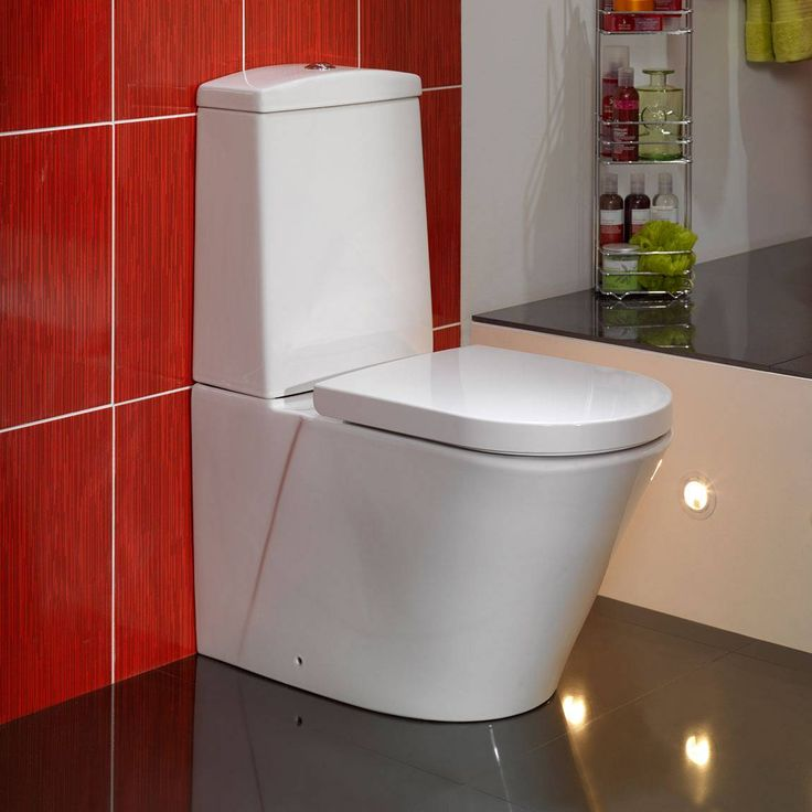 Arc+Close+Coupled+Toilet+inc+Seat