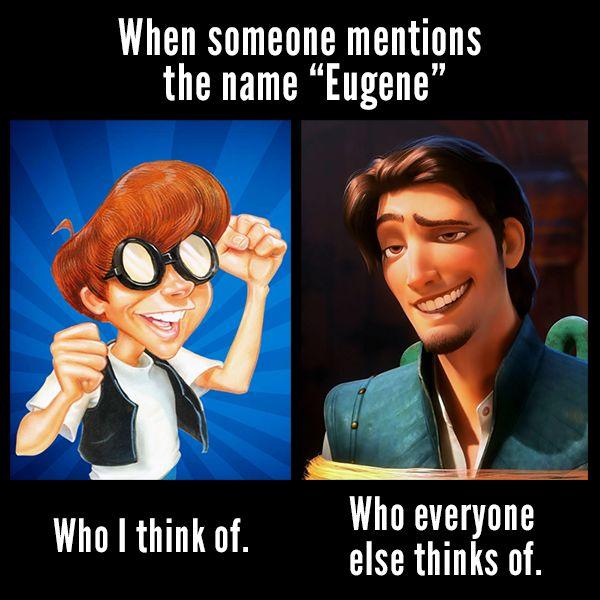 Credit: AdventuresinOdysseyGirl   Eugene Meltsner   Flynn Rider   Adventures in Odyssey memes