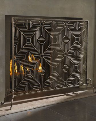 134 best Fireplaces - Screens and Accessories images on Pinterest ...