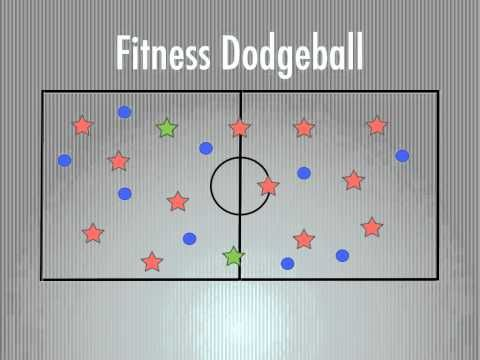 Physical Education Games – Fitness Dodgeball