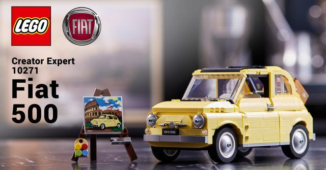 Lego S Newest Creator Expert Vehicle Revealed As The Italian Classic Fiat 500 News The Brothers Brick Fiat 500 Fiat Lego News