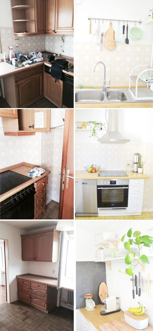 Makeover: Küche Verschönern Vorher Nachher (Teil 2 | DO IT YOURSELF |  Pinterest | Kitchens, Haus And Room Ideas