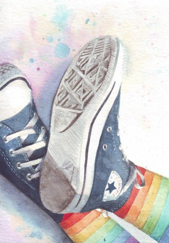 how to draw old converse shoes painting picasso san marcos
