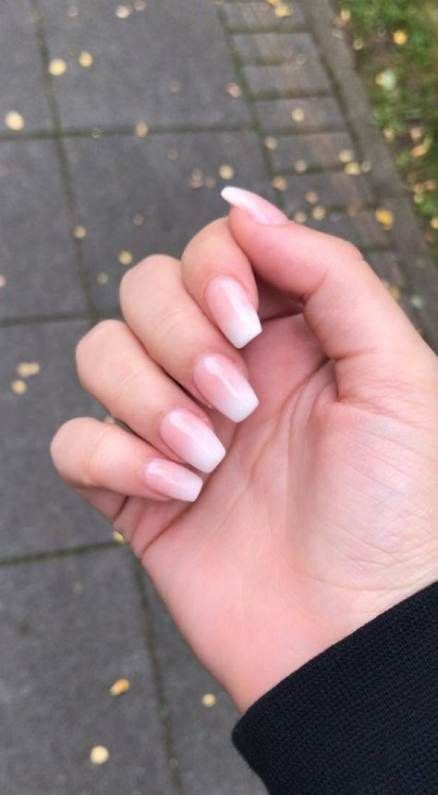 Nägel formen kurze weiße 40+ Ideen – Beautyful