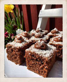 Detta är mitt favoritrecept på Murrekaka. Ja, det är det namn som jag väljer för den här kakan. Receptet kommer från mamma, och hon har ...