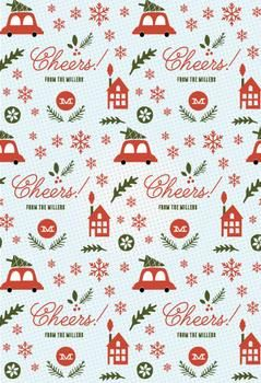 holiday fun by wondercloud design for minted christmas design
