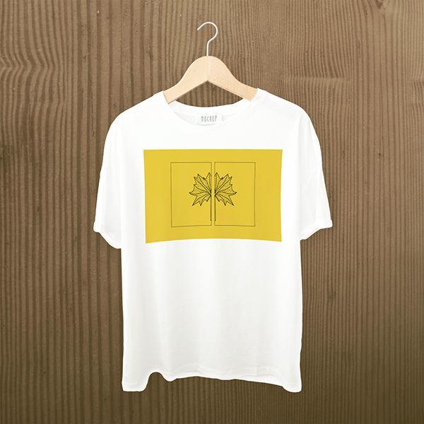 Linha de ilustrações autorais aplicadas em camisetas.