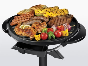 George Foreman Indoor/Outdoor Electric Dome Grill