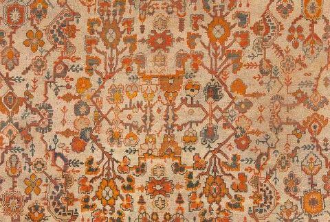Detail of lot 1773. ANTIQUE USHAK. 489 x 413 cm. Bukowskis Classic Sale including carpets and textiles 5 June 2014