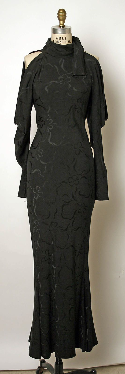 Dress, Evening  Emanuel Ungaro  (French, born 1933)  Date: early 1990s Culture: French Medium: silk