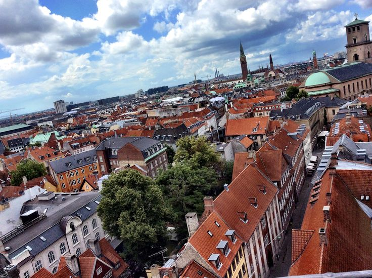 Copenhague desde la Torre Redonda