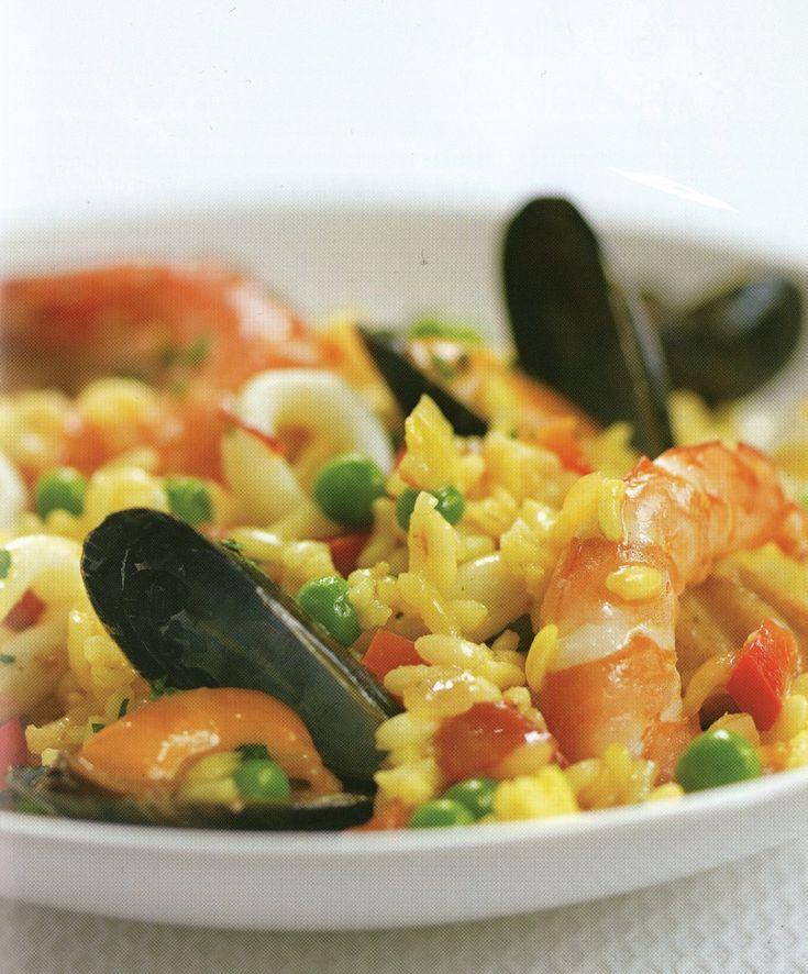 Κλασσική paella - Συνταγή