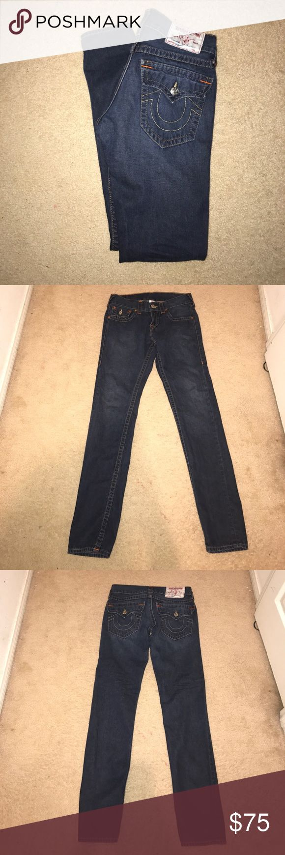 True Religion Men Skinny Jeans Men's skinny jeans authentic Size 28 L34 in good condition True Religion Jeans Skinny