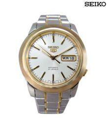 Seiko Clear White Dial Watch