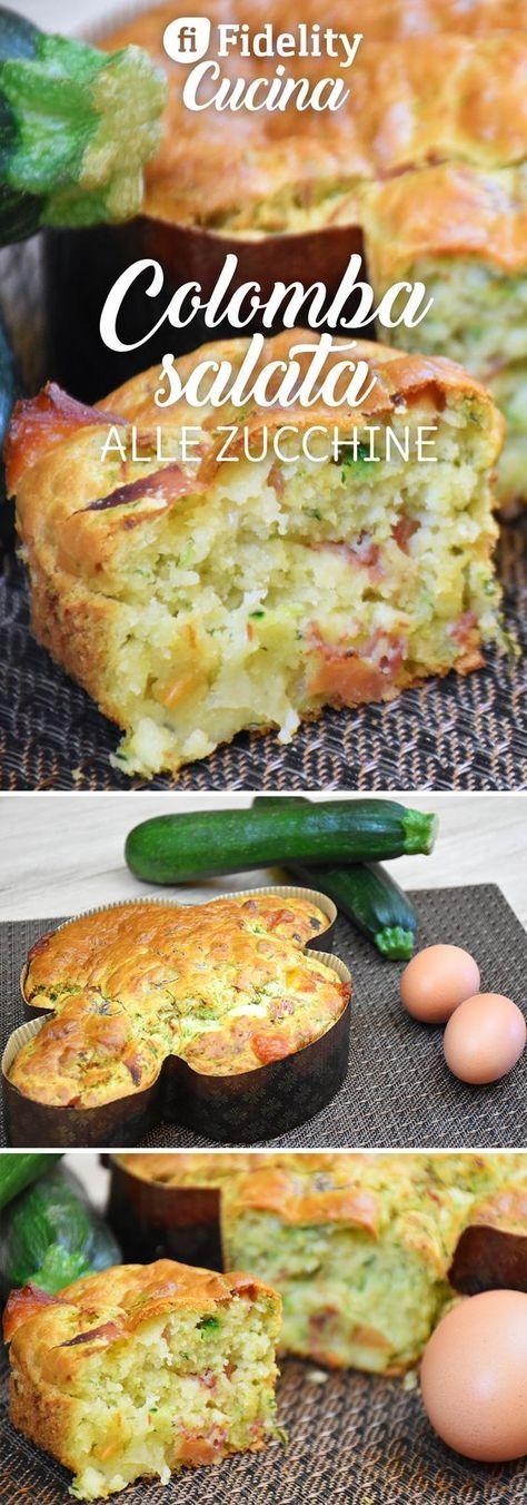 La colomba salata alle zucchine è una variante salata della classica colomba pasquale. Il suo profumo ed il suo sapore vi conquisteranno subito. Ecco la ricetta