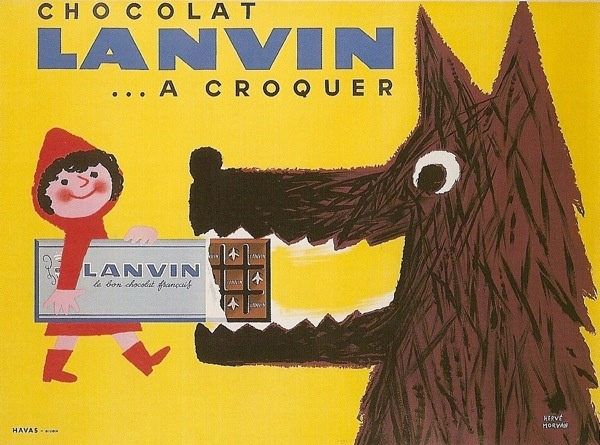 Vintage Chocolate ad - adorable.