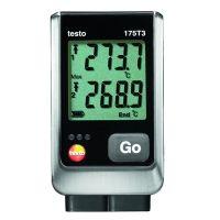 Com o termometro data logger testo 175 T3 e as versáteis sondas termopares externas, você poderá por exemplo, monitorar a temperatura do fluxo de ar e do retorno de radiadores individuais, com objetivo de identificar possíveis falhas.