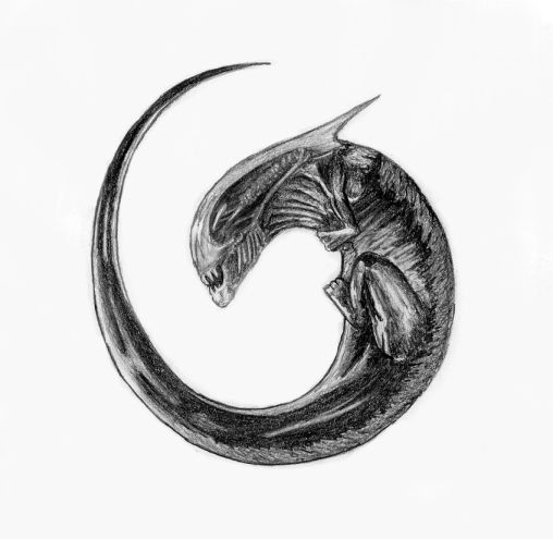 Alien... by Shykoku on DeviantArt