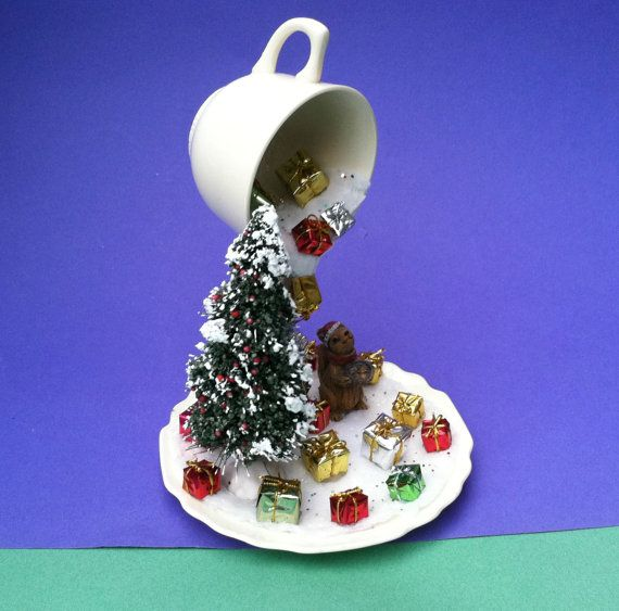 Christmas Decoration Floating Cup by CountryCraftsnflower on Etsy