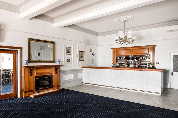 Hospitality Design by Benson Studio. Function Room bar design at the Historic Rose Hotel in Western Australia