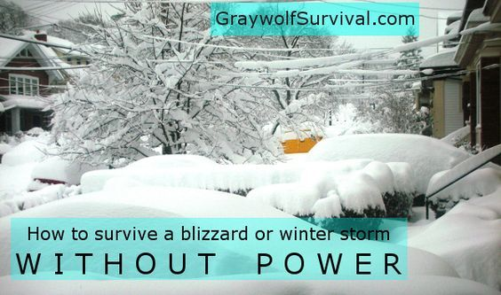 Surviving at home for a while during a severe winter storm isn't all that difficult if you've planned ahead - even if the power goes out.
