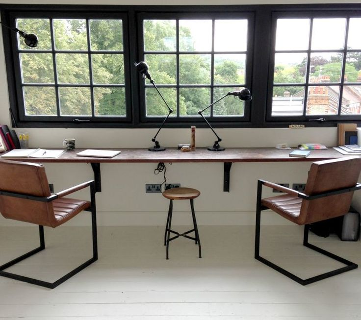 Industrial Style Office Chairs - Mad About The House / Selected by www.20emesiecle.be