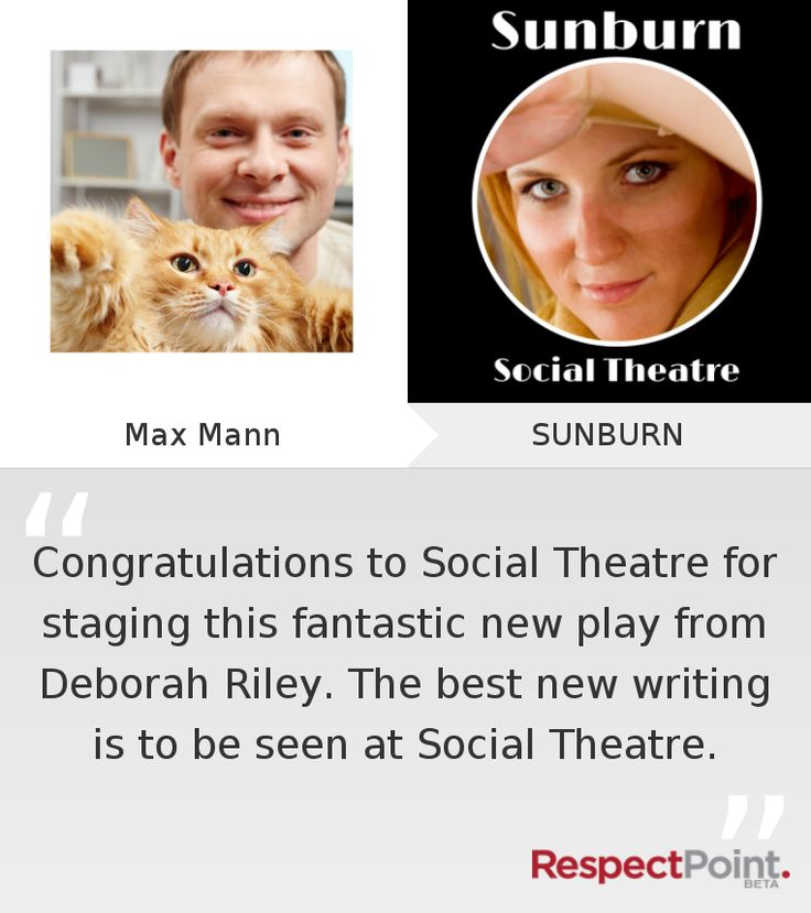 Click through to see what Max Mann had to say about SUNBURN on RespectPoint.com.
