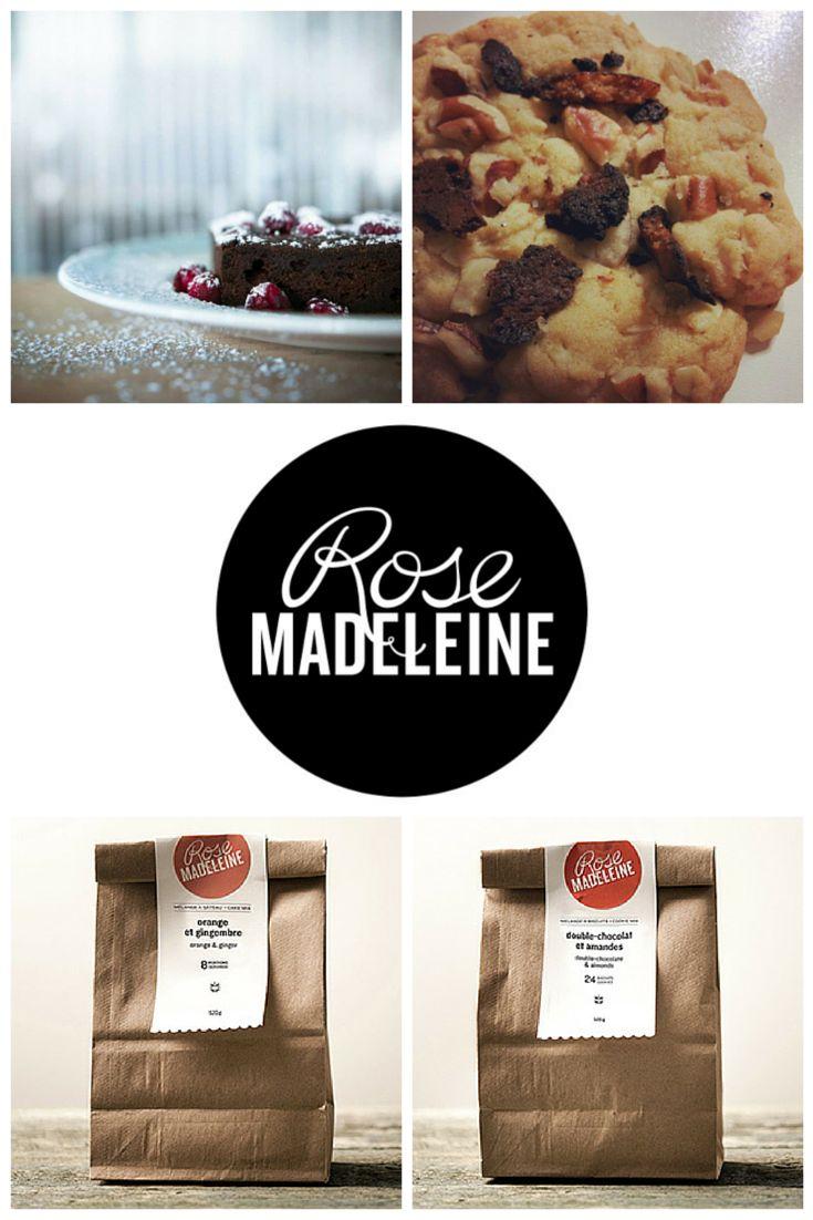 Rose Madeleine - pâtisseries végétaliennes