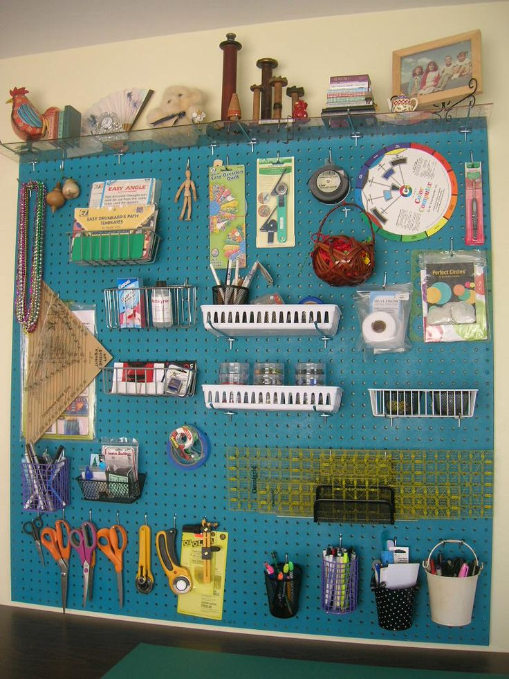60 Best Images About Pegboard Ideas On Pinterest