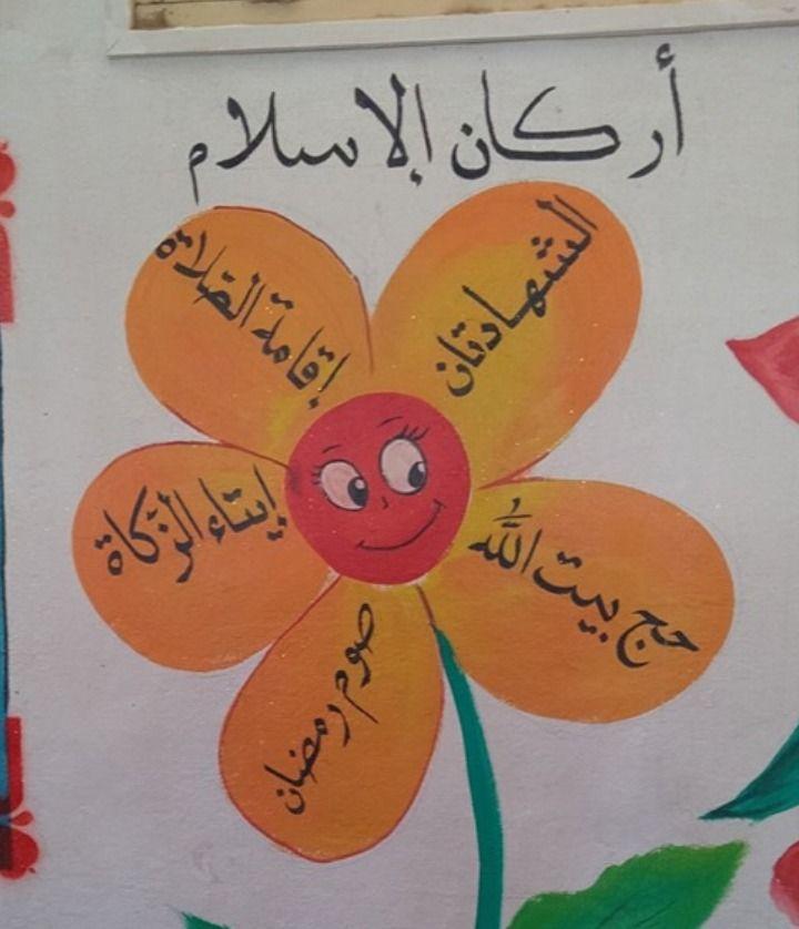 الخط العربي أركان الإسلام Enamel Pins