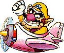 #Wario flying an #aeroplane  More Wario @ http://www.superluigibros.com/wario-pictures