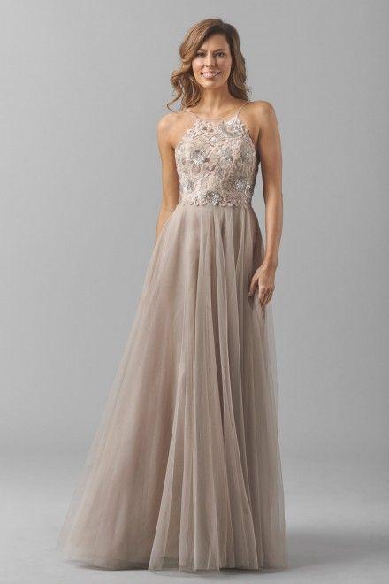 Watters Maids Dress Carly Style 8356i   Watters.com
