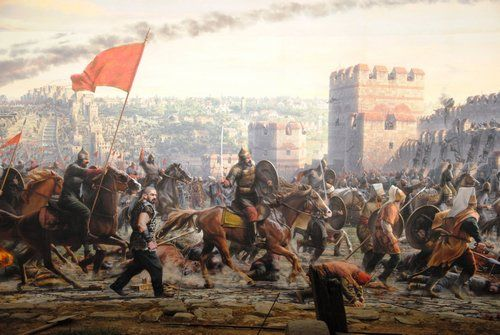 فتح القسطنطينية بقيادة السلطان محمد الفاتح