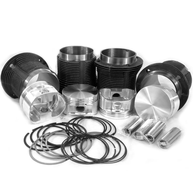 VW 92 x 82mm Thick Wall Cylinders & JE Forged Pistons Kit for 94mm Case *M*