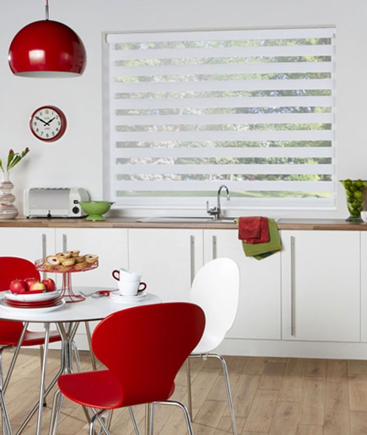 7 best cuisine images on pinterest beautiful kitchens blinds curtains and color palettes. Black Bedroom Furniture Sets. Home Design Ideas